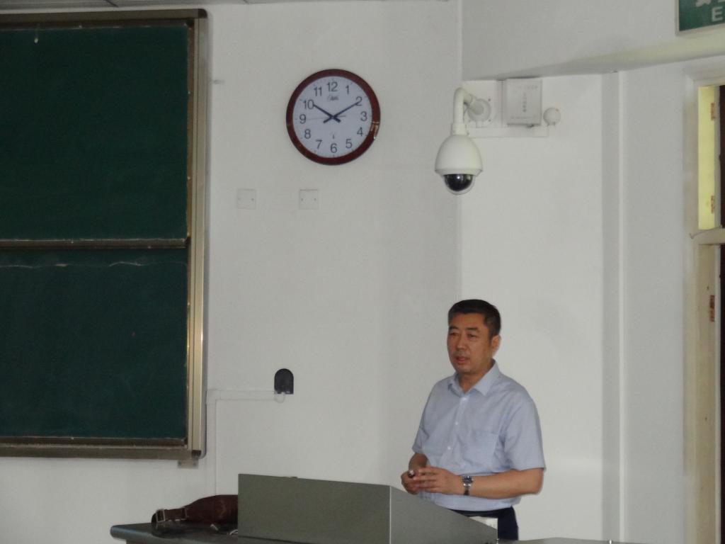 山西大学刘庆昌教授为我校师生做专题报告
